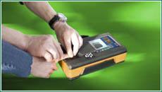 Прокатка пальцев на дактилоскопическом сканере